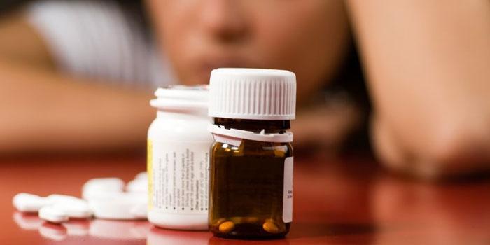 Таблетки в бутылочках