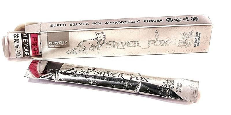 Препарат Серебряная лисица в пакетиках