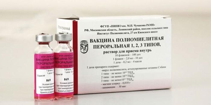 Вакцины против полиомиелита