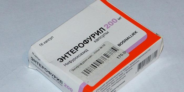 Энтерофурил для лечения ротавируса