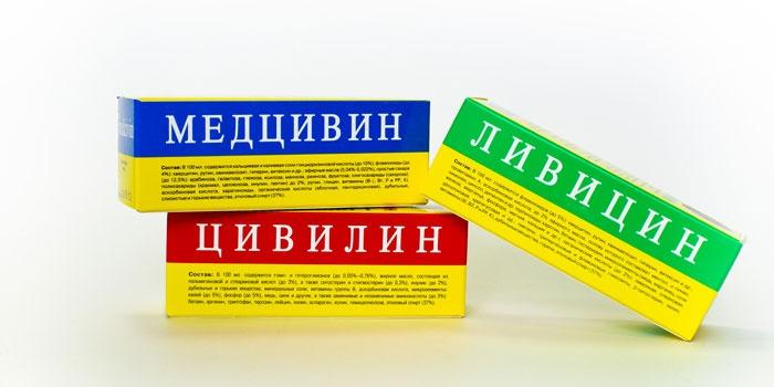 Препараты для лечения кисты желтого тела