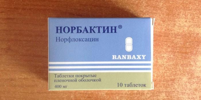 Таблетки Норбактин