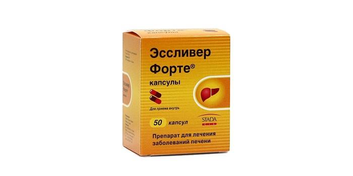 Препарат Эссливер Форте