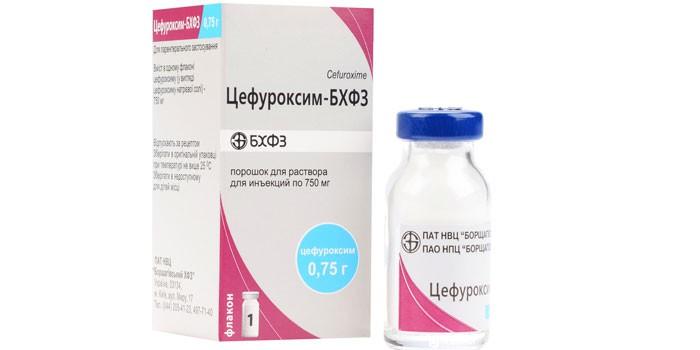 Препарат Цефуроксим