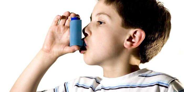 У ребенка бронхиальная астма