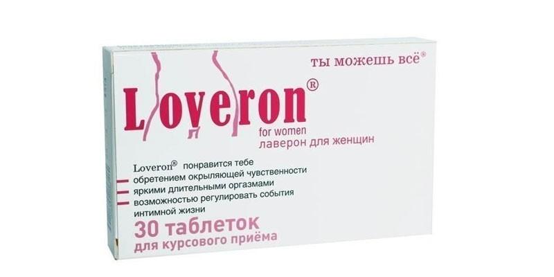 Таблетки Лаверон для женщин