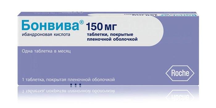 """Бифосфонтаный препарат """"Бонвива"""""""