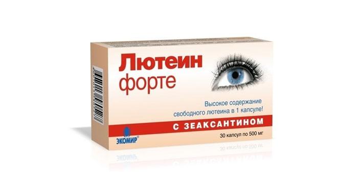 Окувит ocuvite lutein plus kapseln 60 шт парафармацевтика всего мира.