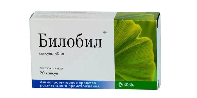 Препарат Билобил