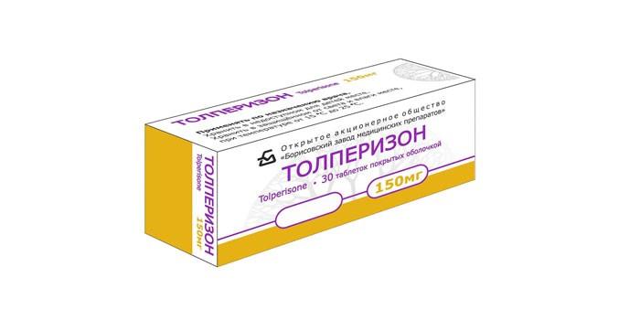 Таблетки Толперизон