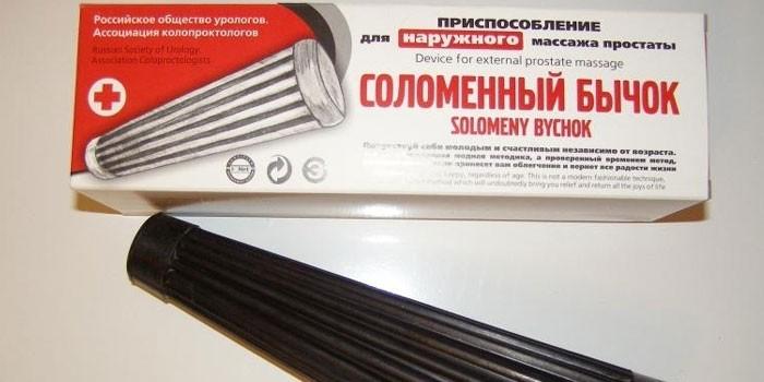 Приспособление для наружного массажа Соломенный бычок