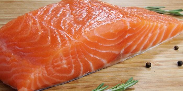 Филе лосося