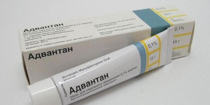 Мазь Адвантан