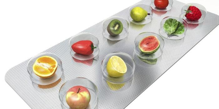 Импровизированная упаковка фруктов