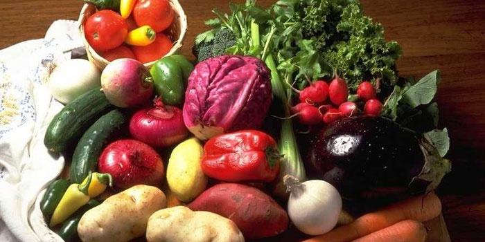 Овощи и зелень для диеты