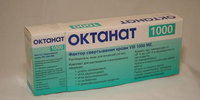 Препарат Октанат 1000