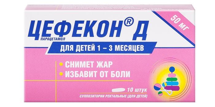 Препарат Цефекон Д