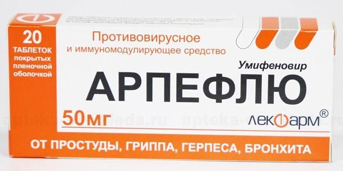 Таблетки Арпефлю