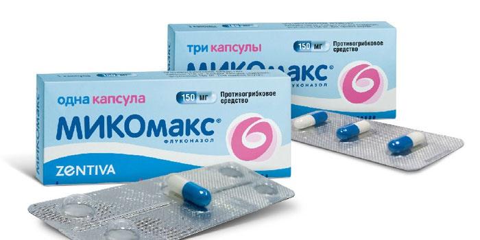 Микомакс - капсула от грибковых инфекций