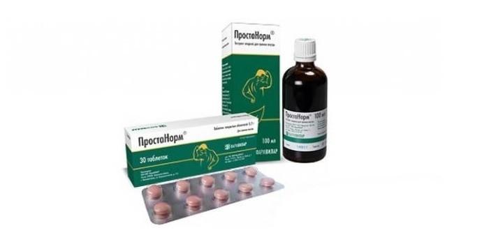 Простонорм в таблетках и каплях