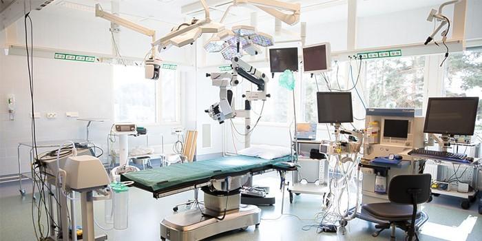 Операционная для лапароскопии