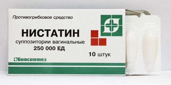 Лекарство Нистатин