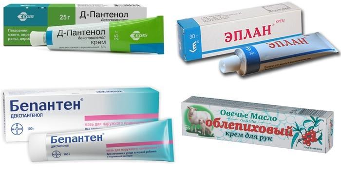Крема для лечения
