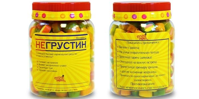 Таблетки Негрустин