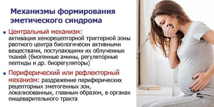 Эмитический синдром при беременности