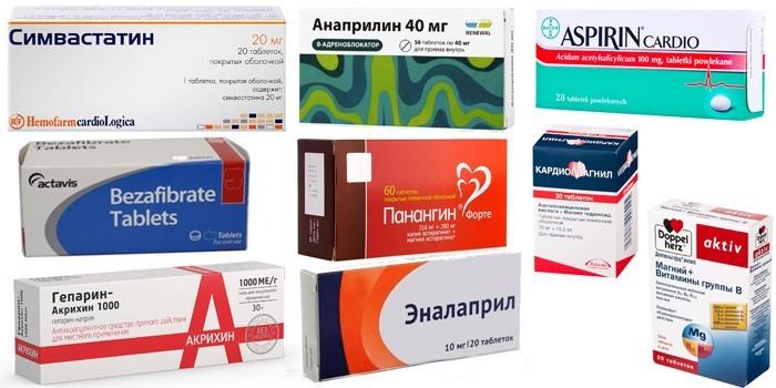Препараты для здоровья сердечно-сосудистой системы