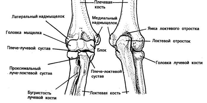 Боль и жжение в локтевом суставе причины