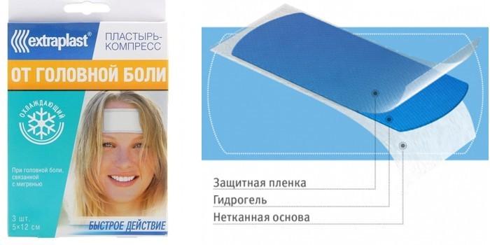 Перцовый пластырь при головной боли куда клеить
