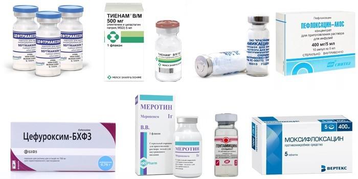 Эффективные антибиотики