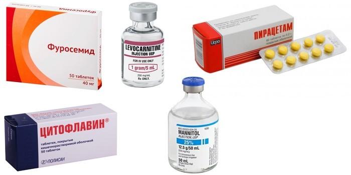 Препараты для лечения отека мозга