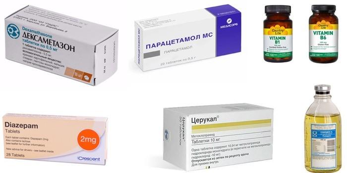 Средства для симптоматической терапии