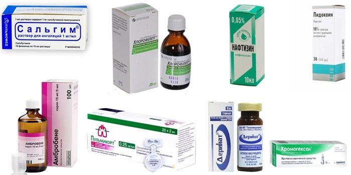 Препараты для ингаляционной терапии