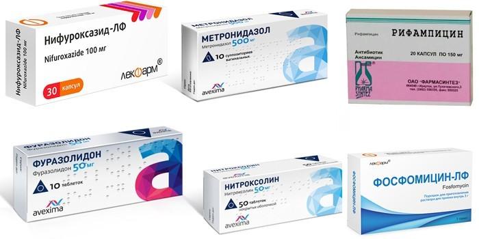Препараты влияющие на цвет урины