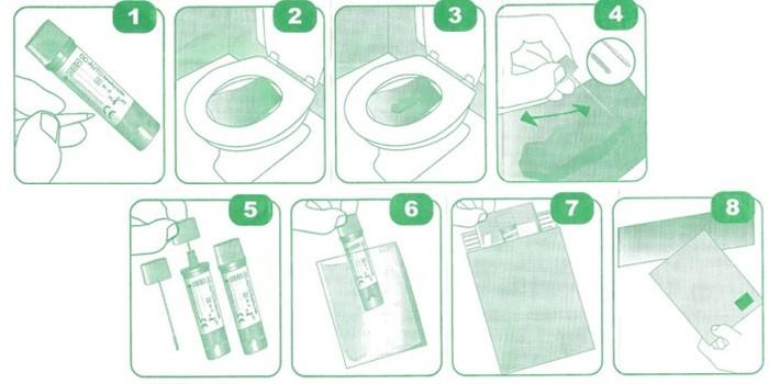 Пошаговая инструкция сбора материала