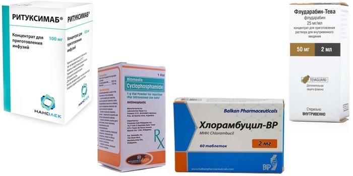 Лекарственные препараты для терапии