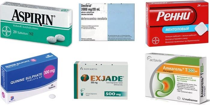 Провоцирующие анемию препараты