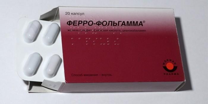 Капсулы Ферро-Фольгамма