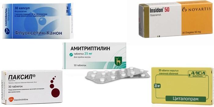 Медикаменты от депрессии