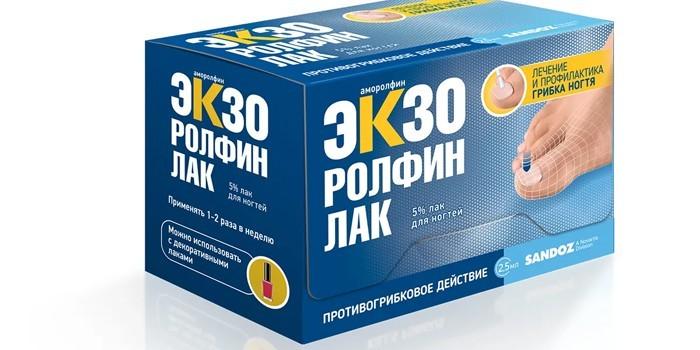 Противогрибковое средство Экзоролфинлак