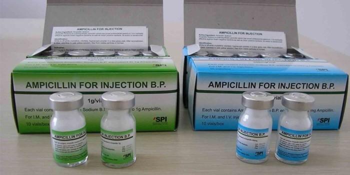 Ампициллин для инъекций