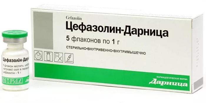 Флаконы Цефазолин