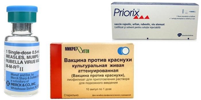 Вакцины в ампулах