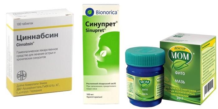 Фитопрепараты для лечения