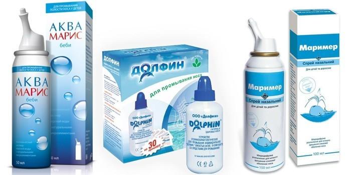 Препараты для промывания носа