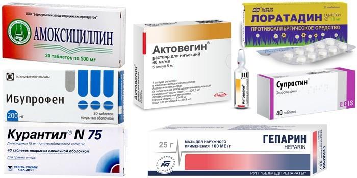 Препараты для комплексного лечения