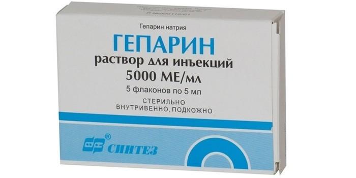 Раствор Гепарина